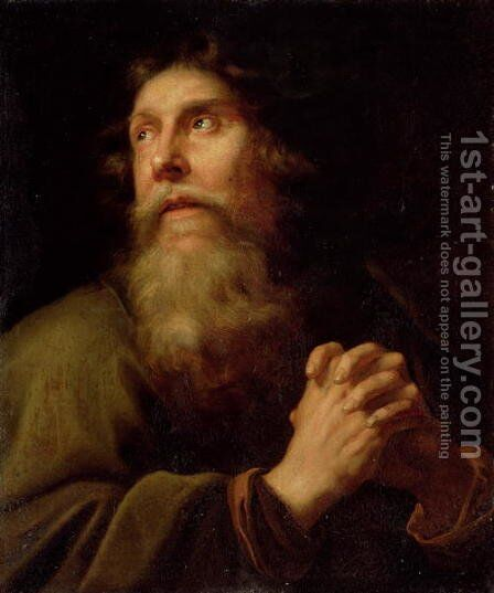 The Penitent Saint Peter by (circle of) Sweerts, Michael - Reproduction Oil Painting