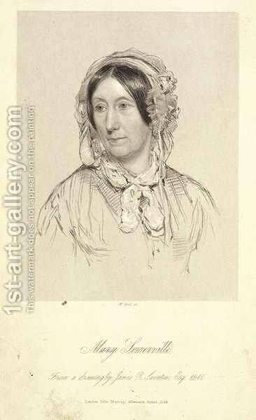 Mary Sommerville 1780-1872 1858 by James Rannie Swinton - Reproduction Oil Painting