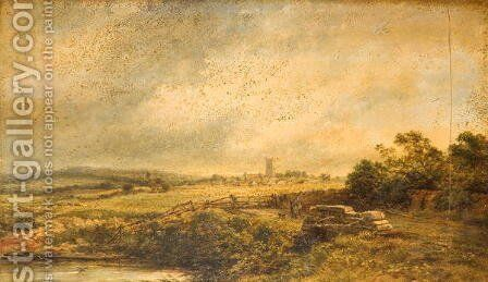 Landscape by John Syer - Reproduction Oil Painting