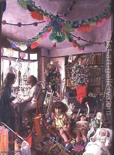 The Day after Christmas by Mark Lancelot Symons - Reproduction Oil Painting