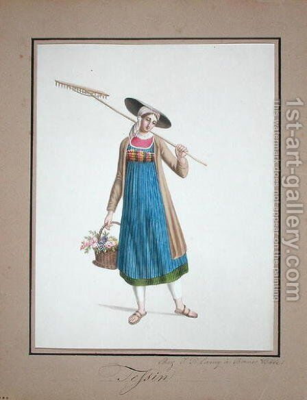 Gardener, c.1815-20 by Anonymous Artist - Reproduction Oil Painting