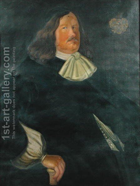 Johan Bjornsson Printz 1592-1663 by unknown - Reproduction Oil Painting