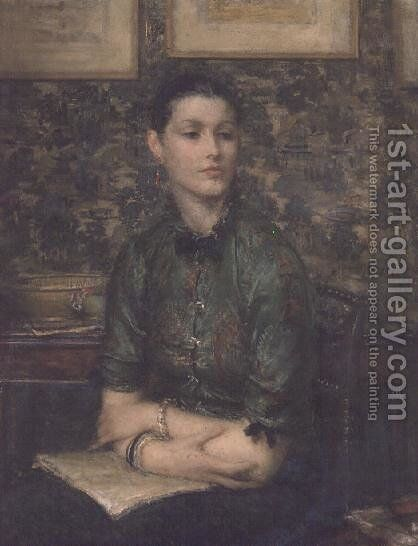 Marion by Sir Walter Russell - Reproduction Oil Painting