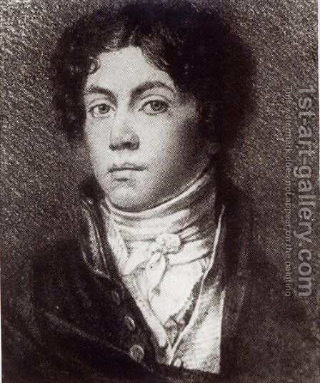 Alexander Pushkin by Anonymous Artist - Reproduction Oil Painting