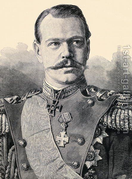Grand Duke Alexander Alexandrovitch III 1845-1894 by Anonymous Artist - Reproduction Oil Painting