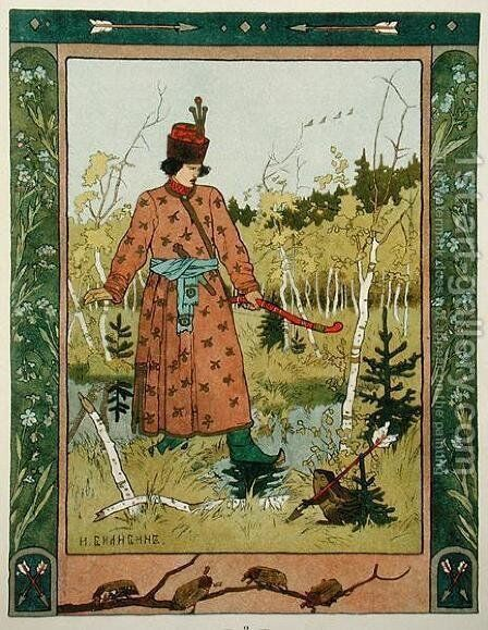 The Prince and the Frog, published 1899-1900 by Anonymous Artist - Reproduction Oil Painting