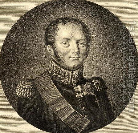 Alexander I 1777-1825 of Russia by Anonymous Artist - Reproduction Oil Painting