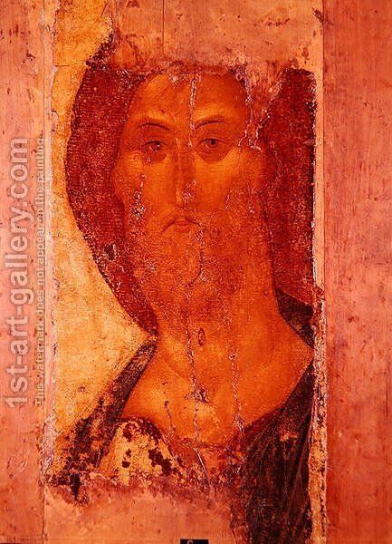 Redeemer, 1420 by Andrei Rublev - Reproduction Oil Painting