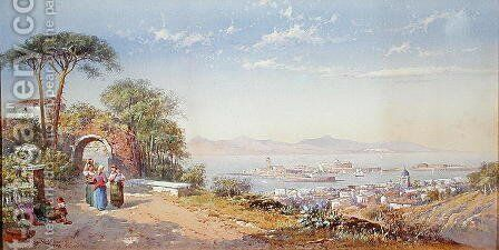 Messina, 1883 by Charles Rowbotham - Reproduction Oil Painting