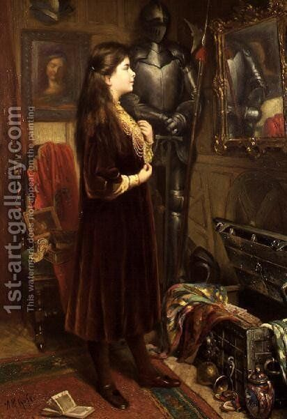 Dressing Up by Alexander M. Rossi - Reproduction Oil Painting