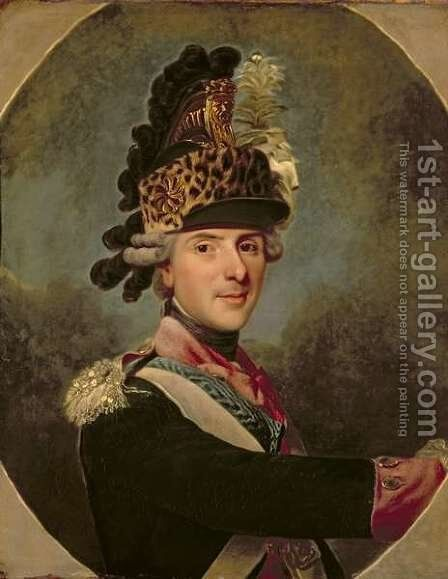 The Dauphin, Louis de France, 1760s by Alexander Roslin - Reproduction Oil Painting