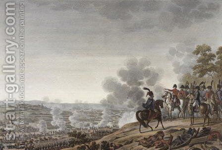 The Battle of the Moskva, 7 September 1812, engraved by Jacques Couche by (after) Roehn, Adolphe Eugene Gabriel - Reproduction Oil Painting