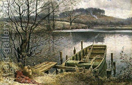 The River Ferry by Charles Robertson - Reproduction Oil Painting