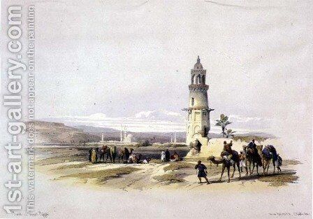 Sioul, Upper Egypt, from Egypt and Nubia, Vol.1 by David Roberts - Reproduction Oil Painting