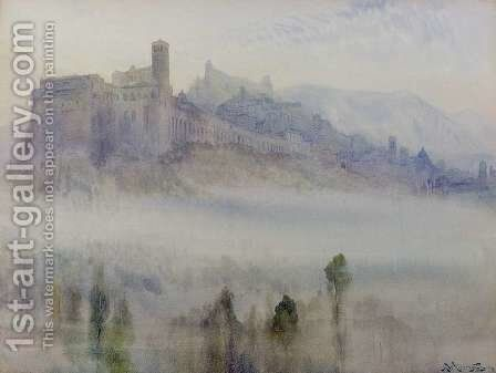 Assisi, Early Morning by Alexander Wallace Rimington - Reproduction Oil Painting