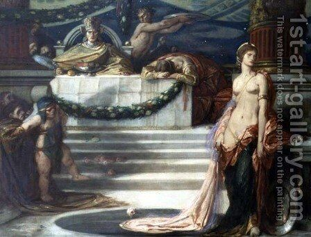 Salome, 1925 by Charles Ricketts - Reproduction Oil Painting