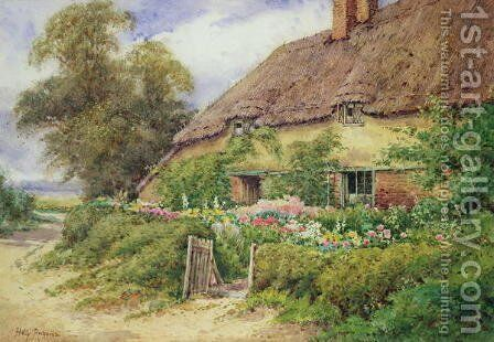 A Cottage at Hythe by Hetty Richards - Reproduction Oil Painting