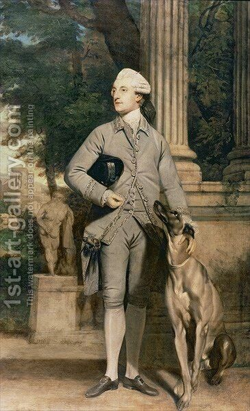 Sir Richard Symons, 1768-70 by Sir Joshua Reynolds - Reproduction Oil Painting