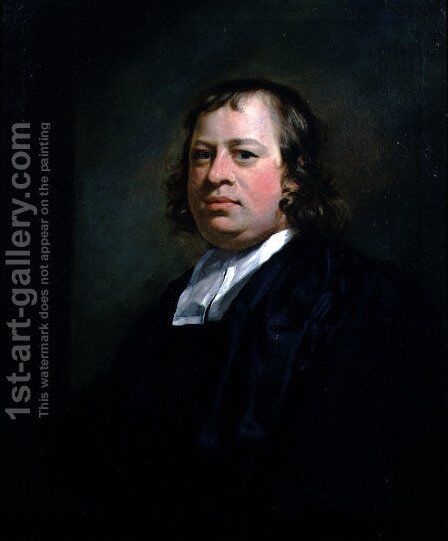Portrait of the Reverend John Hockin c.1709-78, Vicar of Okehampton and Rector of Lydford, Devon, c.1745 by Sir Joshua Reynolds - Reproduction Oil Painting