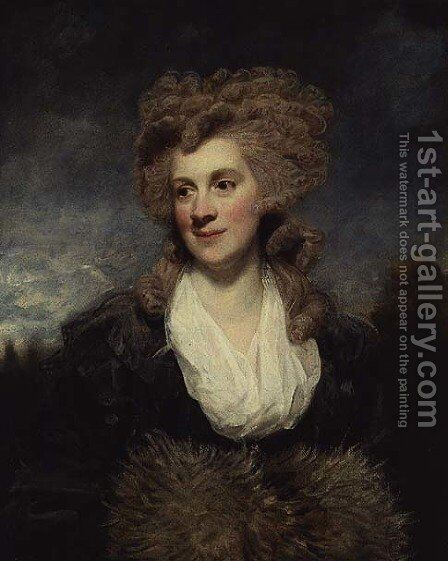 Lady de Clifford, 1786 by Sir Joshua Reynolds - Reproduction Oil Painting