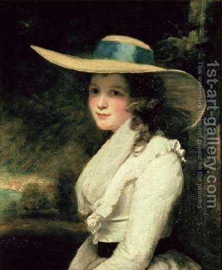 Lavinia Bingham, 2nd Countess Spencer by Sir Joshua Reynolds - Reproduction Oil Painting