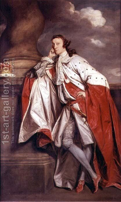 7th Lord Lauderdale, 1759 by Sir Joshua Reynolds - Reproduction Oil Painting