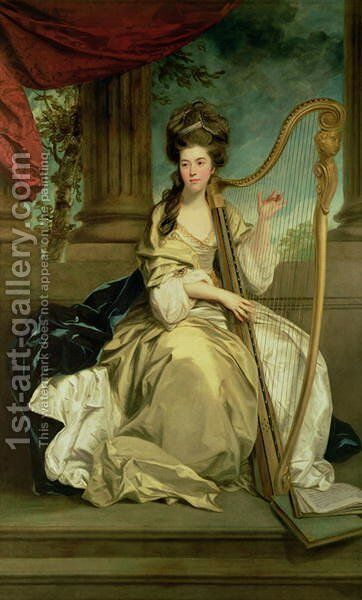 The Countess of Eglinton, 1777 by Sir Joshua Reynolds - Reproduction Oil Painting