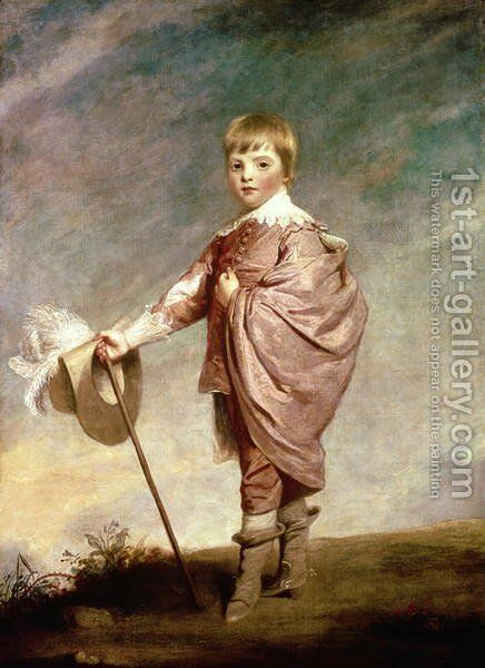 The Duke of Gloucester as a boy by Sir Joshua Reynolds - Reproduction Oil Painting