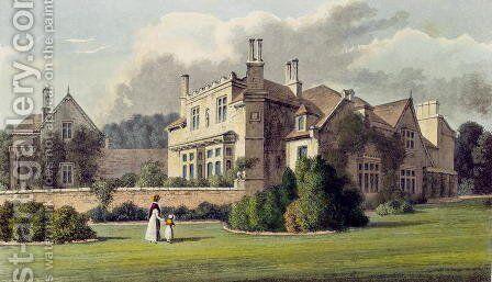 Endsleigh, from Ackermanns Repository of Arts, 1823 by Humphry Repton - Reproduction Oil Painting