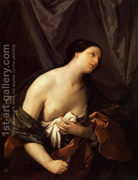Lucretia by Guido Reni - Reproduction Oil Painting