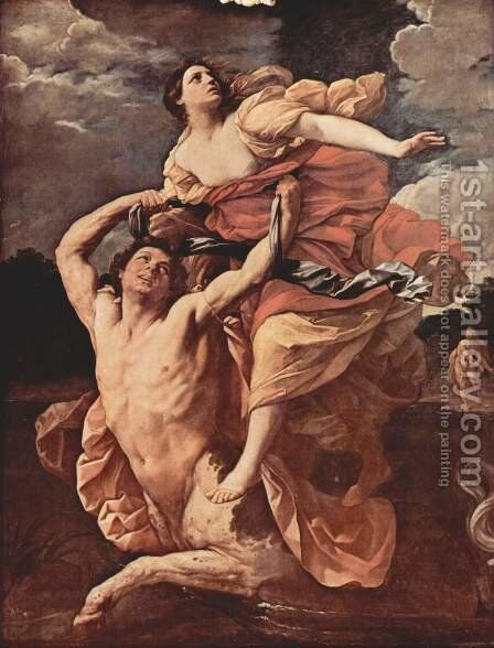 The Abduction of Deianeira by the Centaur Nessus, 1620-1 by Guido Reni - Reproduction Oil Painting