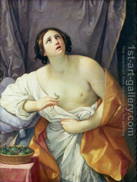 The Death of Cleopatra by Guido Reni - Reproduction Oil Painting