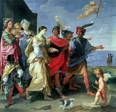 The Abduction of Helen, c.1626-31 by Guido Reni - Reproduction Oil Painting