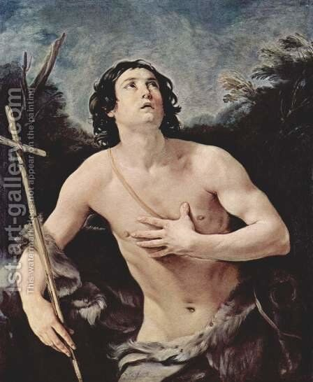 St. John the Baptist by Guido Reni - Reproduction Oil Painting