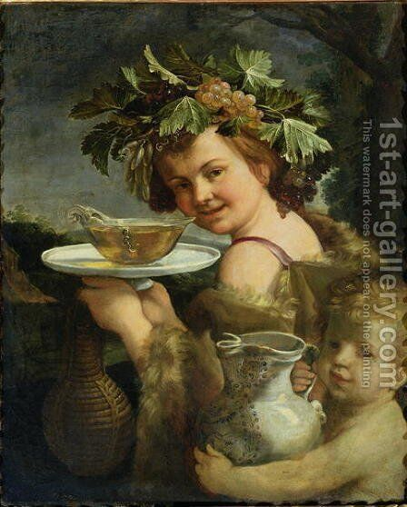 Bacchus by Guido Reni - Reproduction Oil Painting