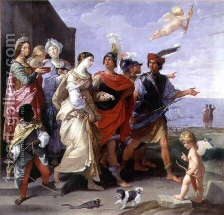 The Abduction of Helen, 1631 2 by Guido Reni - Reproduction Oil Painting