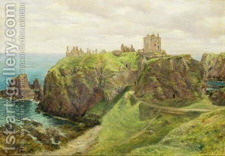 Dunnottar Castle by Sir George Reid - Reproduction Oil Painting