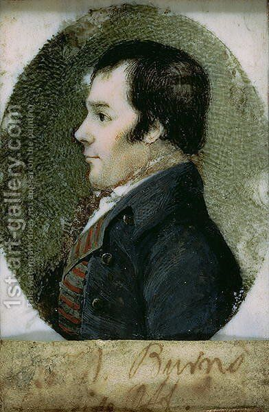 Portrait of Robert Burns 1759-96 1795-96 by Alexander Reid - Reproduction Oil Painting