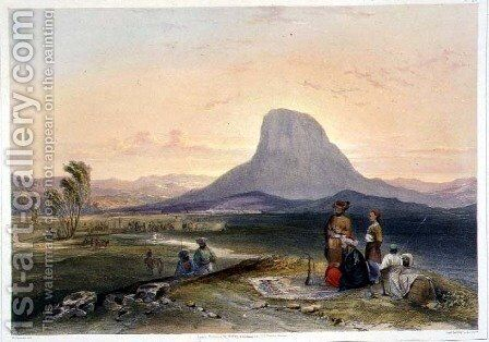 The Bullocks Hump and Military Cantonments, Kandahar, plate 26 from Scenery, Inhabitants and Costumes of Afghanistan, engraved by R. Carrick c.1829-1904, 1848 by (after) Rattray, James - Reproduction Oil Painting