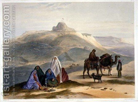 Kelaut-i-Chiljie, plate 8 from Scenery, Inhabitants and Costumes of Afghanistan, engraved by R. Carrick c.1829-1904, 1848 by (after) Rattray, James - Reproduction Oil Painting