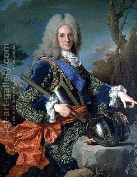 Portrait of Philip V 1683-1746 by Jean Ranc - Reproduction Oil Painting