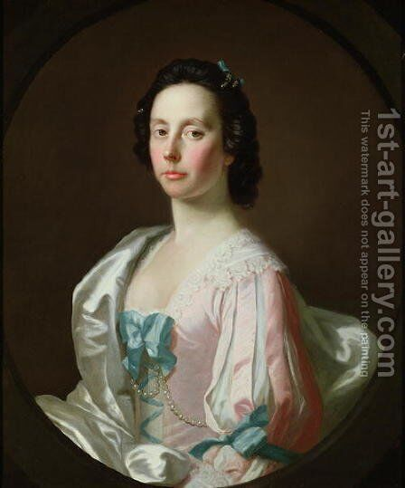 Portrait of Julia Musgrave by Allan Ramsay - Reproduction Oil Painting