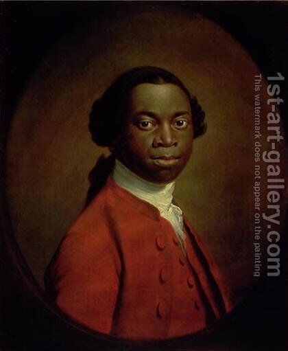 Portrait of an African, c.1757-60 by Allan Ramsay - Reproduction Oil Painting
