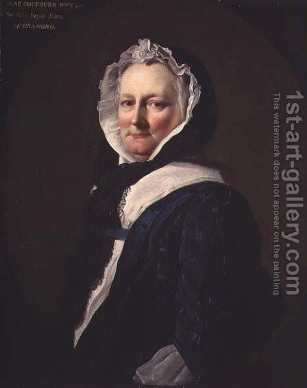 Lady Inglis, c.1745 by Allan Ramsay - Reproduction Oil Painting