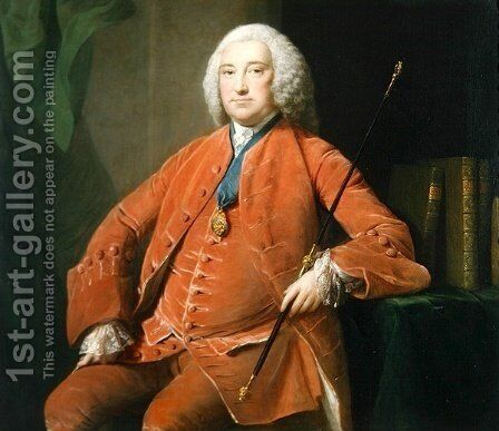 Henry Bellenden, c.1749 by Allan Ramsay - Reproduction Oil Painting