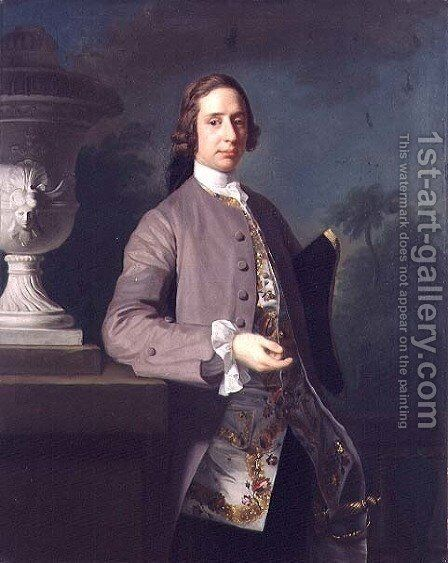 George Bristow, 1750 by Allan Ramsay - Reproduction Oil Painting