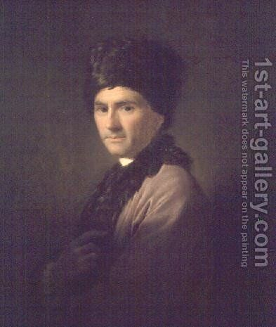 Jean-Jacques Rousseau, 1766 by Allan Ramsay - Reproduction Oil Painting