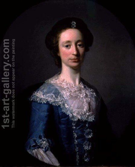 The Countess of Cavan, c.1751 by Allan Ramsay - Reproduction Oil Painting