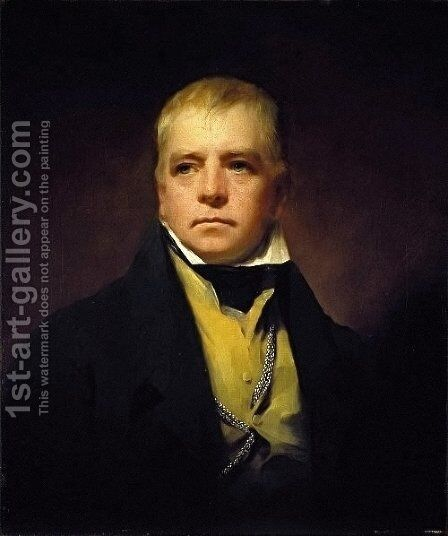 Sir Walter Scott 1771-1832, 1822 by Sir Henry Raeburn - Reproduction Oil Painting