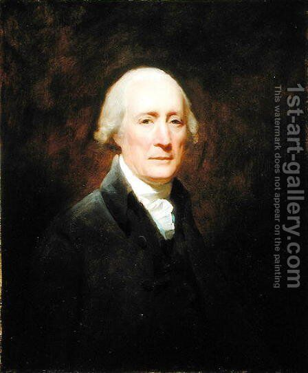 Portrait of Henry Mackenzie 1745-1831 by Sir Henry Raeburn - Reproduction Oil Painting